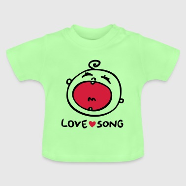 Love Song - Liebeslied - Baby T-Shirt