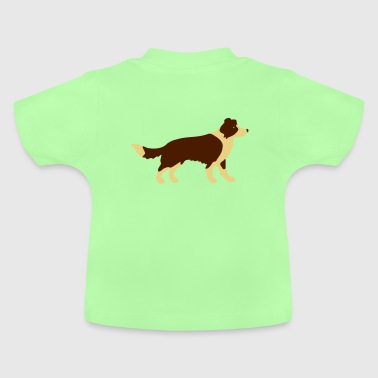 Border Collie - T-shirt Bébé