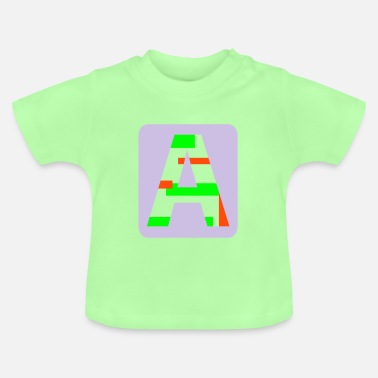 Letter Letter A - Baby T-Shirt