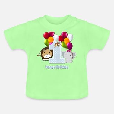 69faa1a7b45ac Vêtements Bébé Anniversaire 1 An à commander en ligne | Spreadshirt