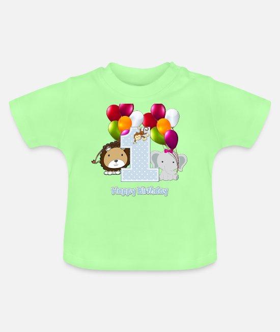 Body B/éb/é Manche Courte Green Turtle T-Shirts Joyeuse 1ere F/ête des M/ères Maman!