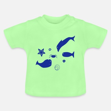 Sea Dweller Sea creatures - Baby T-Shirt