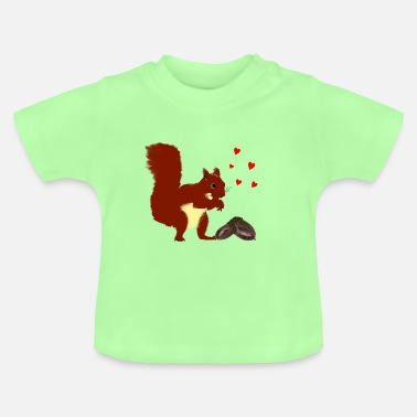 Toddlers squirrel - Baby T-Shirt