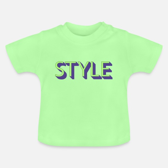 Waves Baby Clothes - Style - Baby T-Shirt mint green