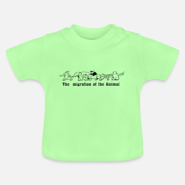 Migration Migration of the animals - Baby T-Shirt