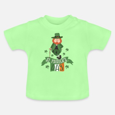 Day St. Patricks Day: Irish Leprechaun Kobold 17. März - Baby T-Shirt
