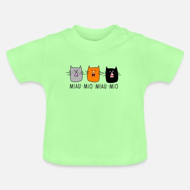 Comics cats concert - Baby T-Shirt