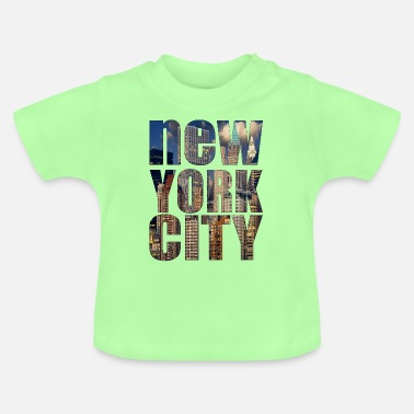 New York City New York City skyline - Baby T-shirt