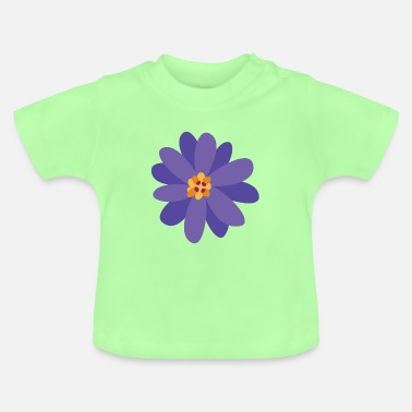 Collections Flower summer purple - Baby T-Shirt