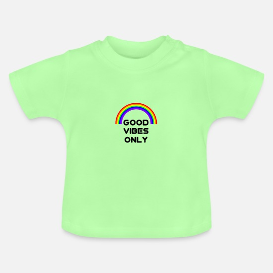 Gift Idea Baby Clothes - Vibes - Baby T-Shirt mint green