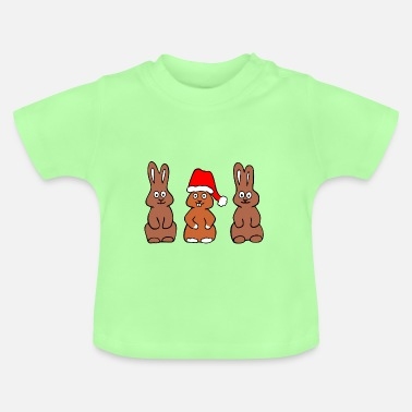 Funny Easter Bunny - be different - Baby T-Shirt