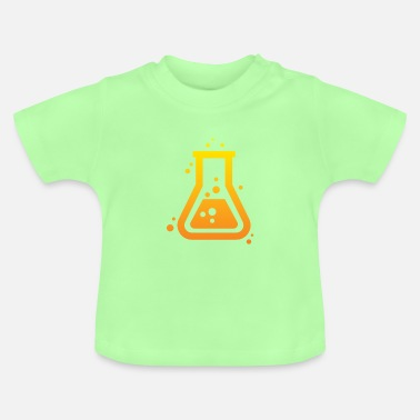 Chemistry science student nerd gift motif - Baby T-Shirt