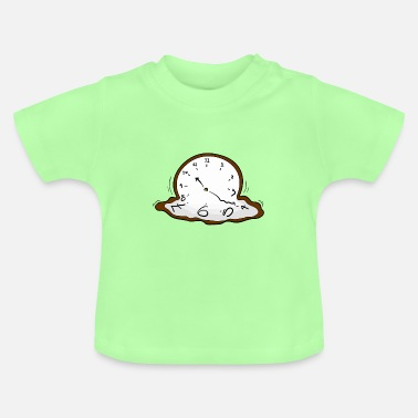 Clock Melting clock - Baby T-Shirt