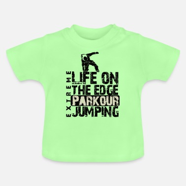 Jumping Parkour Jumping - Baby T-Shirt