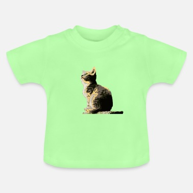 Chase Watching cat - Baby T-Shirt