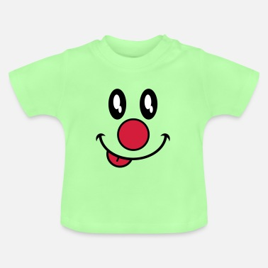Fasching clown fasching karneval - Baby T-Shirt