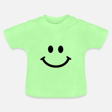 Baby Shower Happy Smiley Face - Baby T-Shirt