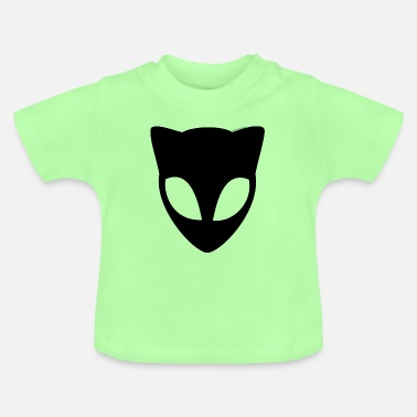 Black Alien Cat - Baby T-shirt
