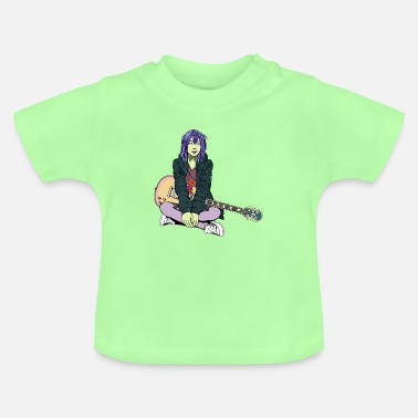Indie INDIE POP SHOEGAZE GIRL - T-shirt Bébé