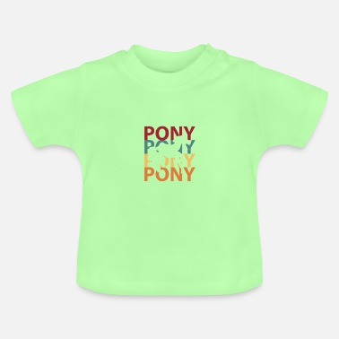 Poney poney - T-shirt Bébé