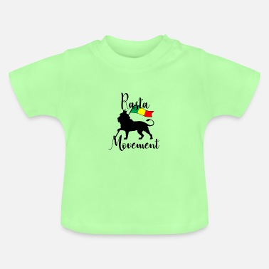 Movement REGGAE Rasta Movement - Baby T-Shirt