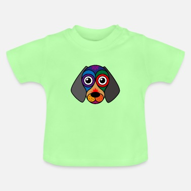 Trance Hypnosis dog in a trance - Baby T-Shirt