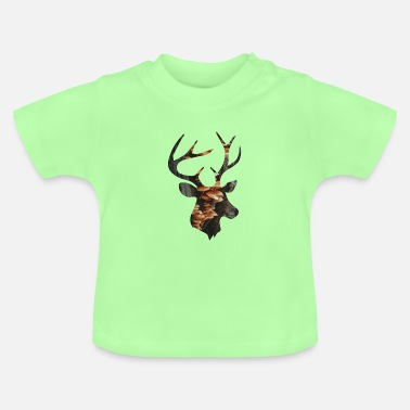 Funges Deer and Mushroom - Baby T-Shirt