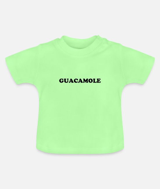 Nature Conservation Baby T-Shirts - guacamole - Baby T-Shirt mint green
