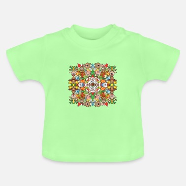 Symmetry Mirroring The Christmas crowd is having a great time - Baby T-Shirt