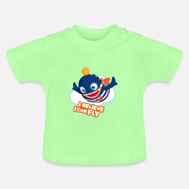 Fly Sorgenfresser Ping I Believe I Can Fly - Baby T-Shirt