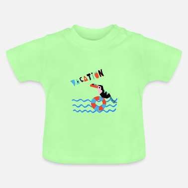 URLAUB-Vacation- Illustration - Baby T-Shirt
