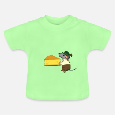 Bavarian bavarian mouse with cheese - T-shirt Bébé