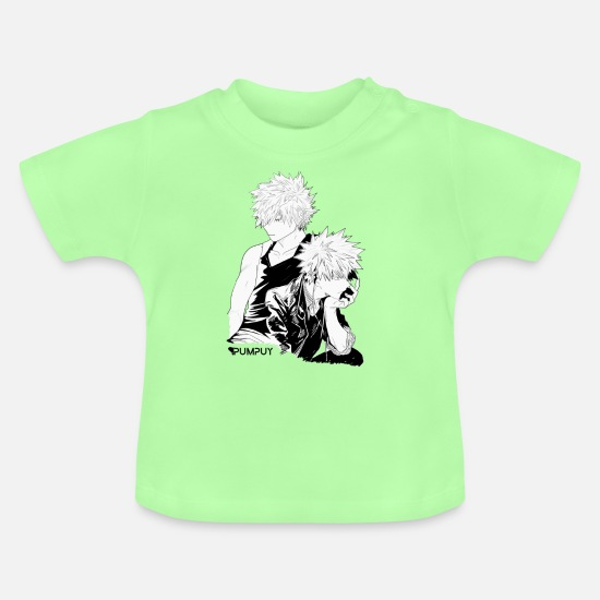 Cosplay Baby Clothes - ANIME CHARACTER - Baby T-Shirt mint green
