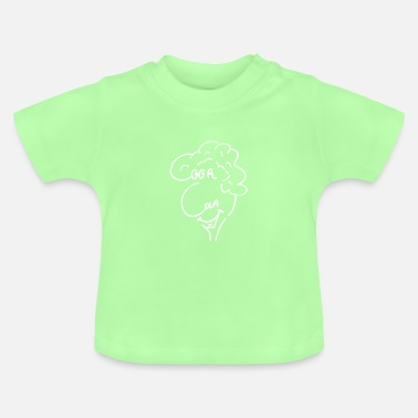 Illustration Head Oca Ola 233 - pure head - blanc - T-shirt Bébé