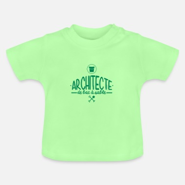 Bac Architecte Bac à Sable - T-shirt Bébé