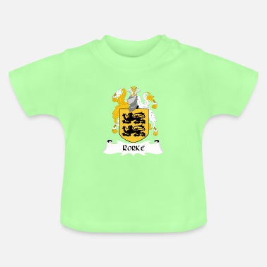 Family Crest Rorke Family shield - Baby T-Shirt