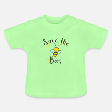 Save the Bees Rette die Bienen Bienenkönigin - Baby T-Shirt