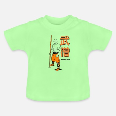 Shaolin Warrior Monk - Baby T-shirt