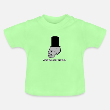 Slut GENTLEMAN TIL SLUTET - Baby T-shirt