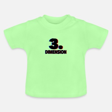 3d 3D-dimension 3D - T-shirt baby