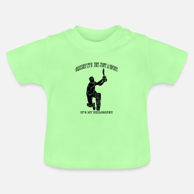 Philosophy Cricket philosophy life attitude - Baby T-Shirt
