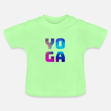 Color Yoga colorful colorful colored - Baby T-Shirt
