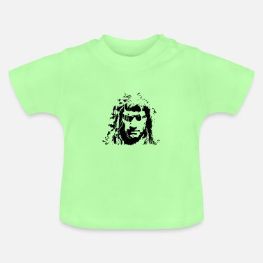 Geralt of Rivia - Witcher Silhouette (Black) - Baby T-Shirt