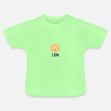 Letter Lion black lettering sign crittercontest - Baby T-Shirt