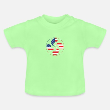 Åndelig Lauburu Shirt Basque Country Cross Ikurrina - Baby T-shirt