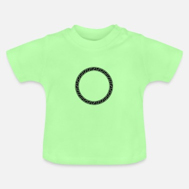 Antique cercle antique - T-shirt Bébé