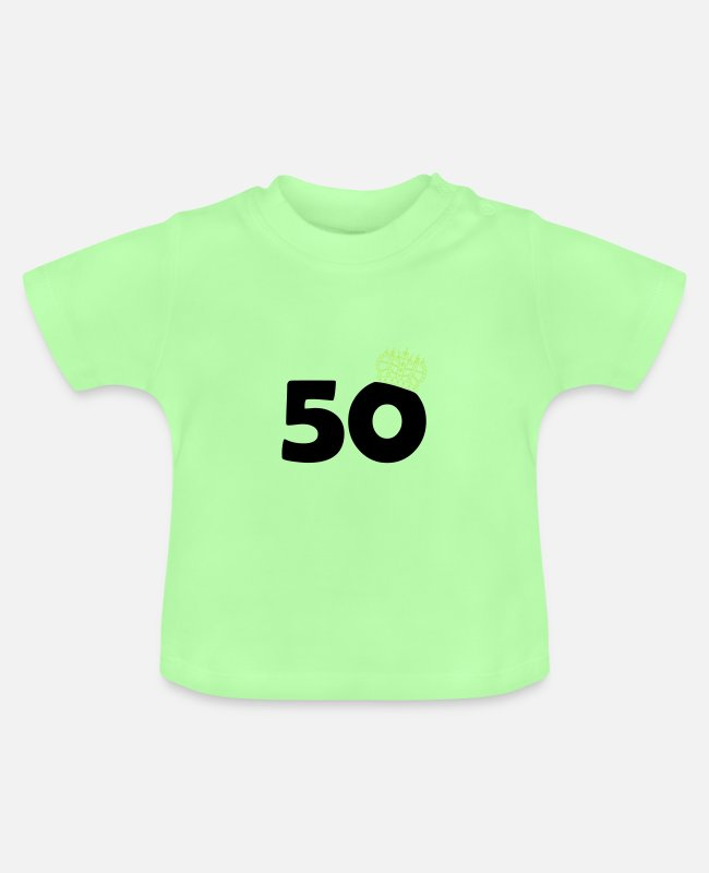 King Queen Baby T-Shirts - 50 king - Baby T-Shirt mint green