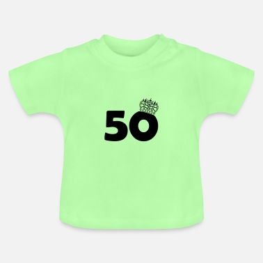 Mayor De 50 50 rey - Camiseta bebé