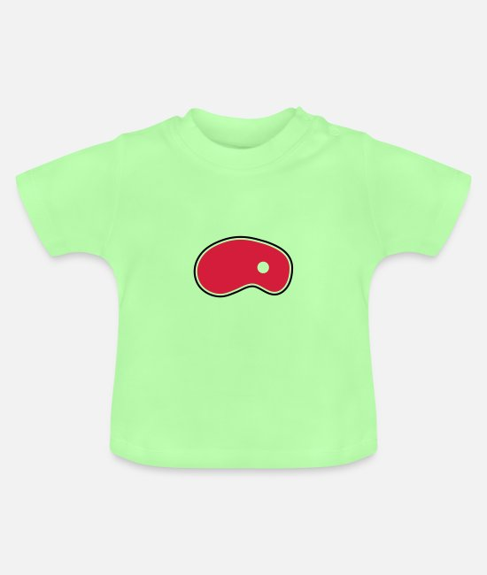 Steak Baby Clothes - steak - Baby T-Shirt mint green