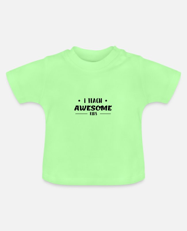 Hauptschule Baby T-Shirts - Lehrer Lehramt Studium Referendar Motivation - Baby T-Shirt Mintgrün